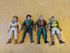 1992 Kenner JP Jurassic Park Lot of 4 action figures