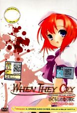 Higurashi When They Cry DVD English Version Complate ( EP 1 -26 ) END 0 Region