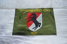 11th Armored Cav Regiment mini-flag U S Army