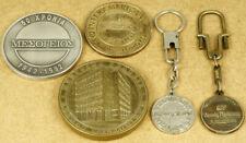 Greece Vintage Insurances Medals and Keychains Lot