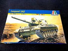 ITALERI Leopard 1A2 Tank Plastic Model Kit #7031 1/72 NEW Sealed