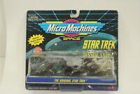 NEW *Sealed* STAR TREK TOS Micro Machines SHIPS Set I Collectible Black Base
