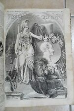 VICTORIAN BAND of HOPE Review bound 1858 - 67  Childrens 1/2d magazines antique