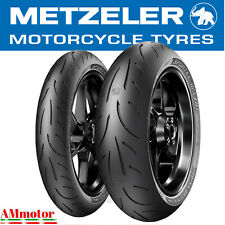 Metzeler Sportec M9 RR 120 70 180 55 ZR 17 Coppia Pneumatici Gomme Moto