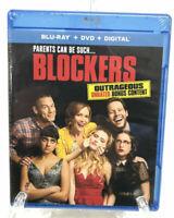 Blockers Blu-ray DVD Digital Code John Cena NEW w/slip cover 🌴FD4U2