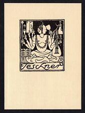 30)Nr.126- EXLIBRIS- Richard Teschner, 1918