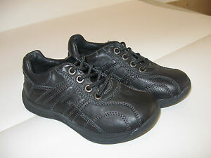 Brand new  SUREFIT boys girls  size  28(10), 29(11)black  leather  casual shoes.