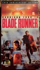 """""""Blade Runner"""" 10th Anniversary Edition VHS (1380) Harrison Ford"""