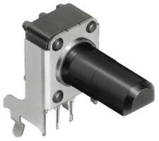 5 X PCB potenciómetro ALPS serie RK09K con un eje de 6 mm de diámetro. 10kΩ ± 20%, lineal