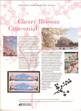 #888 (45c) Forever Cherry Blossom Cent#4651-4652 USPS Commemorative Stamp Panel