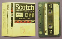 MC Musicassetta SCOTCH C-60 Dynarange vintage compact cassette audio tape USATA