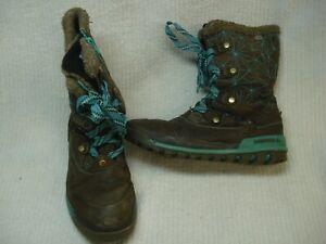 Women's Merrell Silversun  waterproof insulated winter snow boots 7.5  brown