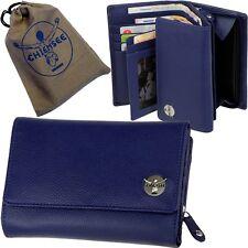 Damen Geldbörse Leder Blau CHIEMSEE Geldbeutel Portemonnaie ocean blue purse