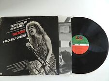 THE ROSE - ORIGINAL SOUNDTRACK W/BETTE MIDLER Live Vintage Vinyl LP record VG+