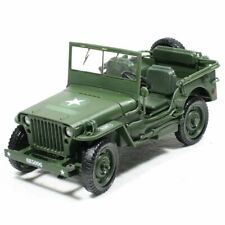 Alloy Diecast 1:18 Military Tactical Car Model US Army Willy Truck Vehicle