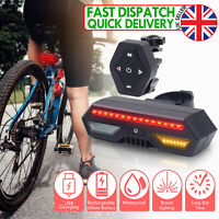 Cycling INDICATOR Bike Rear Light Safety Turn Signals Lights Cycling Accessories
