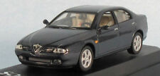 SOLIDO 1999 Alfa Romeo 166 (Dark Grey Met.) 1/43 Scale Diecast Model NEW, RARE!