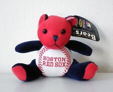 Boston Red Sox Squeeze Me MLB Teddy Bear - Plays Sounds - NEW