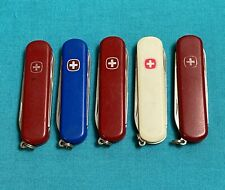 Lot Of 5 Wenger Delemont Swiss Army Knives - Retired Esquire Mix - Multi Tools