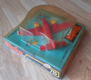 Dinky Airplane/Aircraft Beechcraft C55 Baron #715 NM & Excellent Boxed