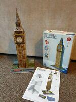Ravensburger 12554 Big Ben 3D Jigsaw Puzzle - 216 Pieces VGC Christmas fun