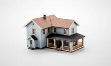 Archistories Z 407191 American Rural House Kit LIGHT BLUE *NEW $0 SHIP
