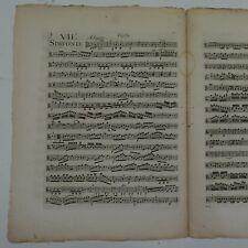 Haydn Sinfonia 90, Antico Viola parte, pagine 2 e 5 solo