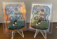 2020 Panini Prizm La'Mical Perine RC Rookie Silver & Orange Prizm New York Jets!