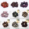 Women Leopard Printed Scrunchie Elastic Hair Bands Hair Rope Hair Accessories