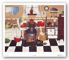Sixty Pounds Annie Lee African American Art Print 19x24