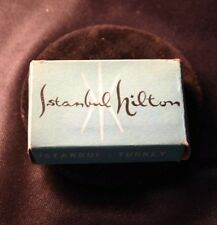 Vintage ISTANBUL HILTON HOTEL Room Soap in Orig. Box 1950s