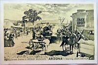"Vintage Rare Postcard Street Scene in ""Arizona"" 1950s Movie ~ Jean Arthur~Tucson"