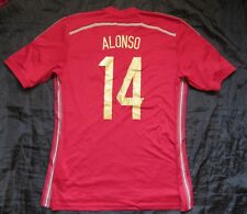 14f9894b3 Xabi Alonso  14 SPAIN ESPANA World Cup 2014 Shirt jersey ADIDAS adult SIZE L
