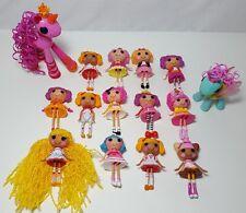 Lalaloopsy Mini Doll lot 15 Dolls with Pets