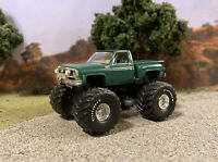 1980 Chevy K10 4x4 Truck Lifted 1/64 Diecast Custom Square Body Monster Truck