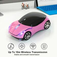 Mini Portable Wireless Optical Gaming Mouse PC Mice 1600DPI USB Receiver Office