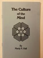 ♾ The Culture of the Mind by Manly P. Hall 1984 Occult Science