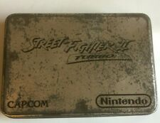 SNES GAME - STREET FIGHTER 2 II With TIN - PAL VERSION Boxed Nintendo