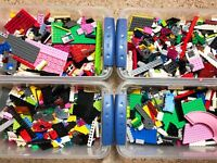 Lego 1-99 Pounds Parts & Pieces HUGE BULK LOT Legos bricks blocks city town cars