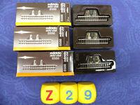 MÄRKLIN mini club Spur Z, Nr. 8588, 3 Stück Trenngleis 5,5 cm, in OVP (Z29)