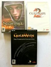 Job Lot 3 x GUILDWARS PC Games - NIGHTFALL / GUILDWARS 2 / Complete COLLECTION