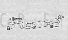 Exhaust Middle Box Volkswagen Golf Plus 1.4 Petrol Hatchback 01/2009 to 12/2009