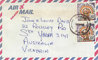 Stamps Papua New Guinea 1983 headress commercially used airmail to Australia