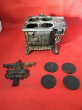 SALE-MINI/SMALL-QUEEN STOVE SALESMAN SAMPLE-TOY SIZE-CAST IRON