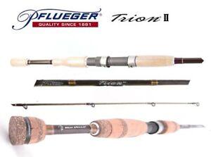"""Pflueger Trion II PFLTII-SP6101XH Graphite Spin Rod 8-12 kg 6'10"""" 1 Piece"""