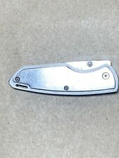 Winchester All Steel Clip Folding Knife (small nick on blade)