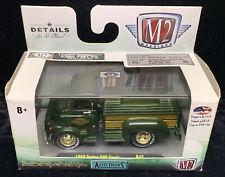 2017 M2 Machines 1958 Dodge Express COE Truck Auto R42 17-31 NIB Green Pick Up