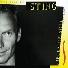 "STING ""FIELDS OF GOLD-THE BEST OF STING"" CD NEW+"