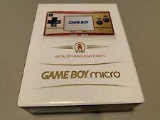 Nintendo Game Boy GameBoy Micro 20th Anniversary New Open Box