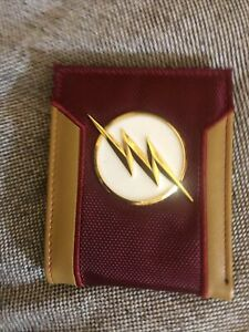 The Flash Body Armor  Wallet Red And Gold